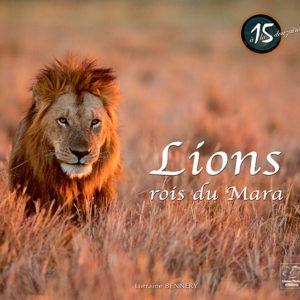 Livre Lions, rois du Mara
