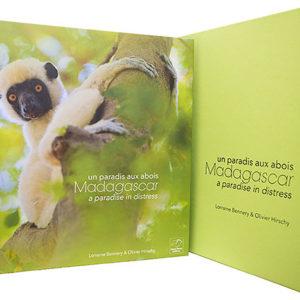 Livre Madagascar, un paradis aux abois